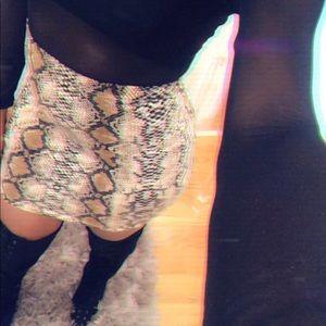 Dresses & Skirts - Ritzy Snakeskin Skirt